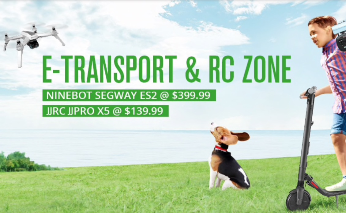 E-Transport and RC Zone - Gearbest
