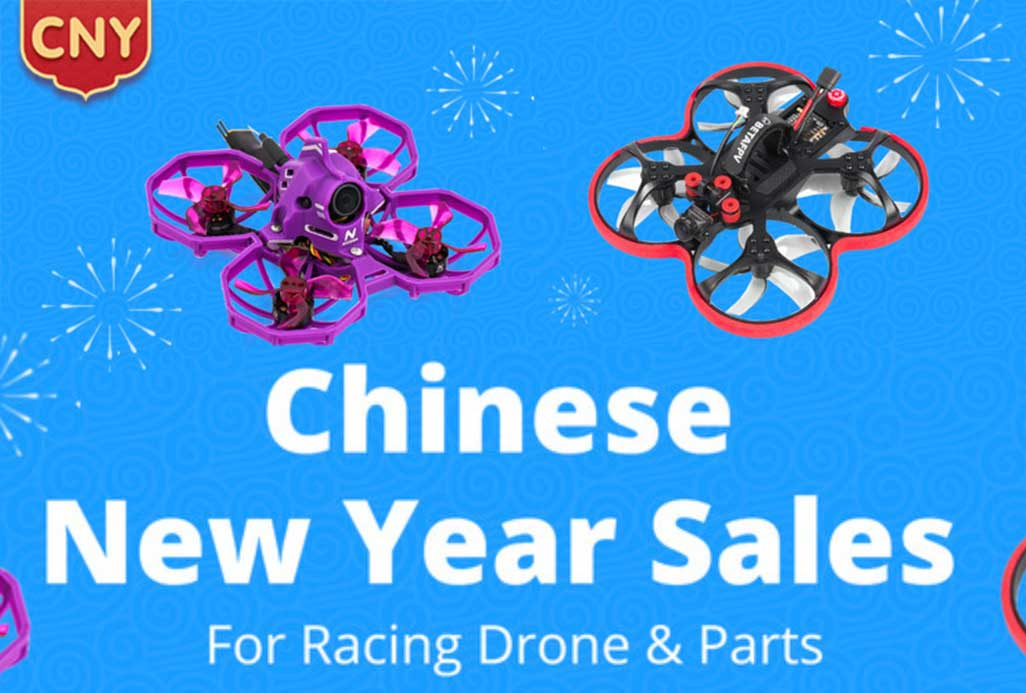 Banggood Chinese New Year Sale FPV Racing Drone